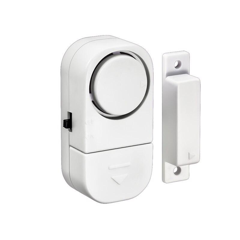 5pcs Entry Door Alert Wireless Door And Window Sensor 90db Alarm