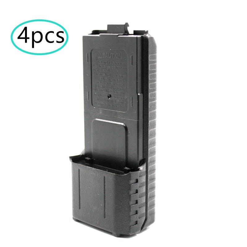 4 шт Расширенный 6X AA Батарея случае пакет оболочку для BAOFENG UV-5R UV-5RA 5RB 5RA + BL-5L UV-5RE плюс двухстороннее радио