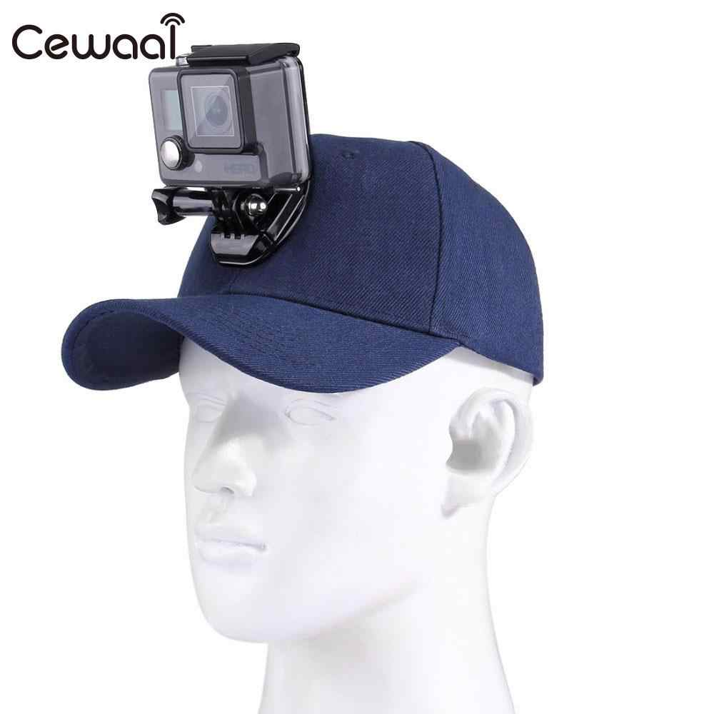 077a582f784 Helmet Sports DV Hat Action Camera Hat Baseball Cap Panoramic Head Mount  for GOPRO Ultra