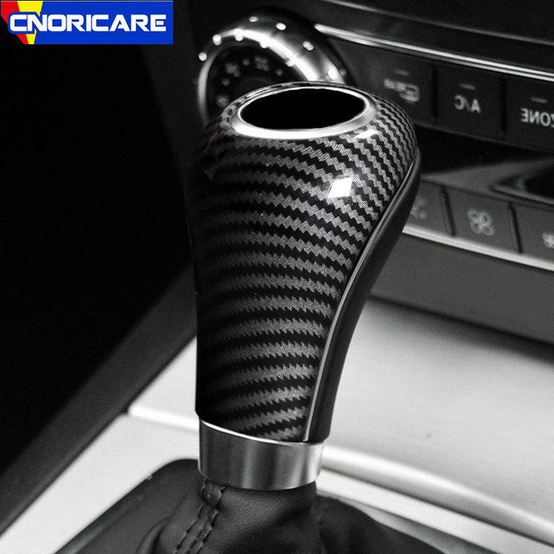 Carbon Fiber Color Car Styling Center Console Gear Shift Decals Decoration Cover Trim For Mercedes Benz C E A Class W212 W204