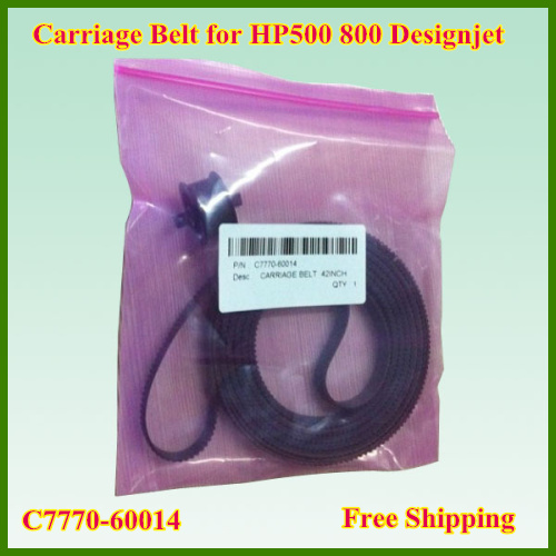 1PC Super quality C7770-60014 42inch New Plotter Carriage Belt For HP designjet 500 800 Plotter spare Parts