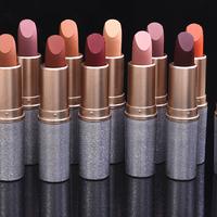 2018 New   Lipsticks   For Women Sexy Brand Lips Color Cosmetics Waterproof Long Lasting Nude   Lipstick   Matte Makeup