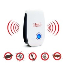 EU/US Plug Ultrasonic Anti Mosquito Insect Repeller Rat Mouse Cockroach Pest Reject Repellent