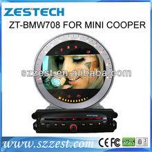 ZESTECH central multimedia Car DVD GPS for MINI COOPER car dvd player