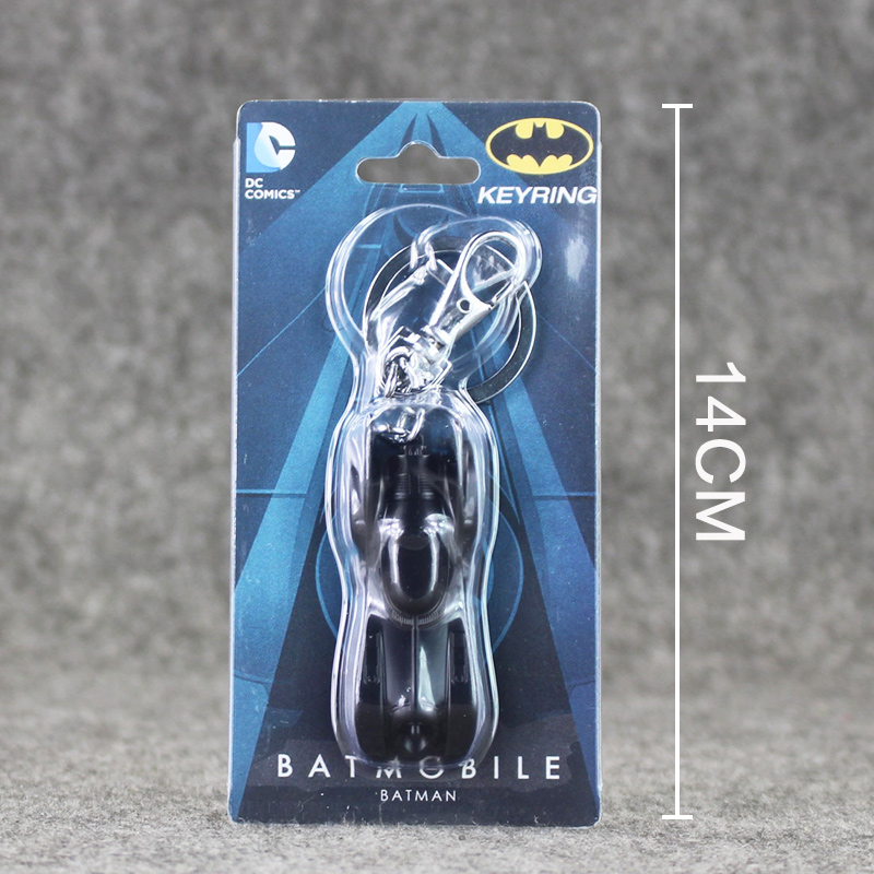 Batman Car Model Batmobile Metal Keychains Pendant Key Chain Key Ring 6cm майка классическая printio napoleon dynamite