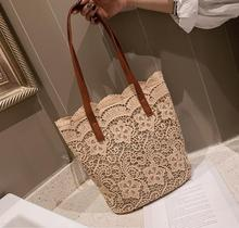 Lady Sweet Lace Embroidery Tote Women Crossbody Bag Female Shoulderbag Sac #859