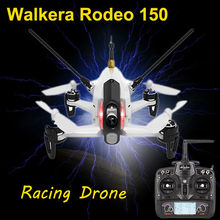 Free shipping!Walkera Rodeo 150 5.8Ghz FPV Racing Drone Quadcopter With Devo7+600TVL HD Camera