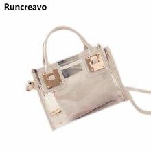 fd63762ef307 2018 новые модные женские туфли прозрачные сумка желе конфеты летние  пляжные сумки женские Курьерские сумки Bolsa