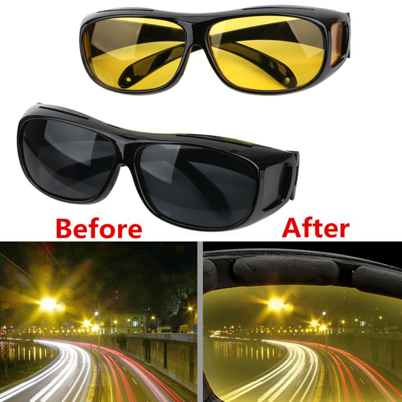 Car Driving Glasses Night Vision Goggles Polarized Sunglasses Unisex HD Vision Sun Glasses Eyewear UV Protection