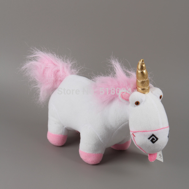 Anime Cartoon Despicable ME Fluffy Unicorn Plush Toy Soft Stuffed Animal Plush Dolls 9