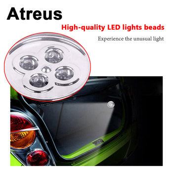 Atreus 1X Car Styling Interior LED Grille Reading Lamp Decoration Sticker for BMW E46 E90 E36 F10 E34 E53 Audi A4 A3 C5 A5 C6 Q5 image