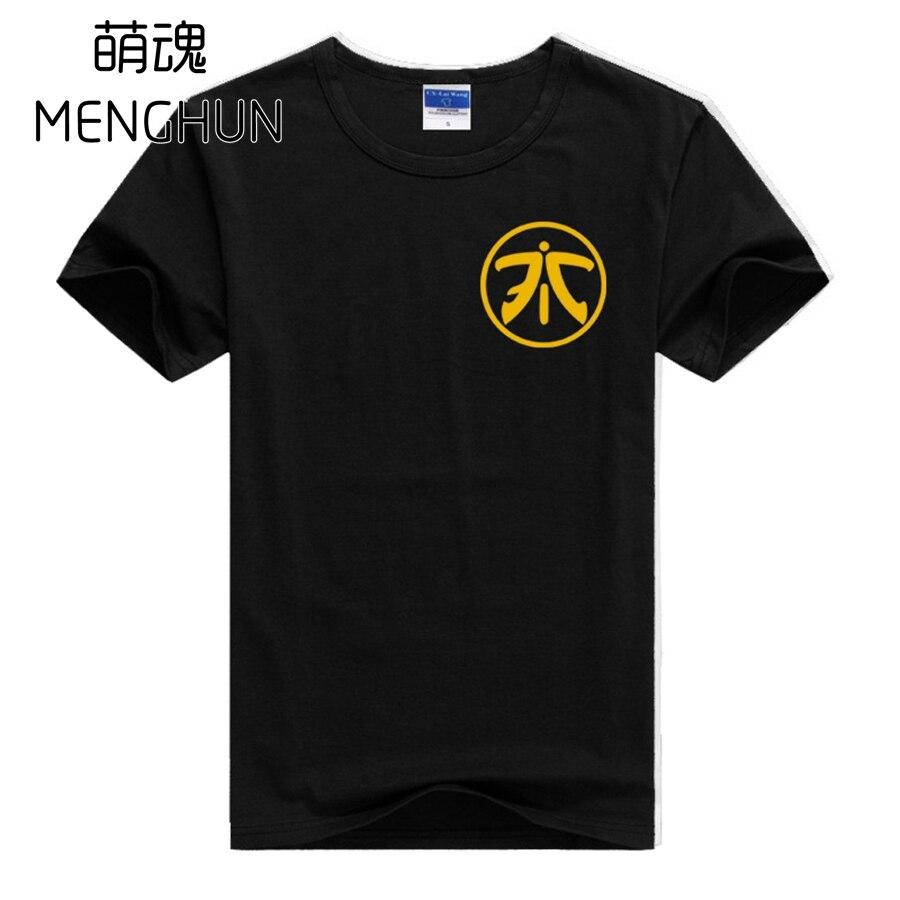Gamer logo impresión camisetas líquido Gambit fnatic impresión hombres  camisetas juego fans regalo hombres camiseta fnatic 59f1ceb3f08ff
