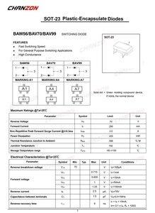 Image 3 - (100 pièces) Diodes à commutation rapide petit Signal BAV70 SMD 200mA 70 V SOT 23 (SOT 23 3) 200 mA 70 volts (marquage A4)