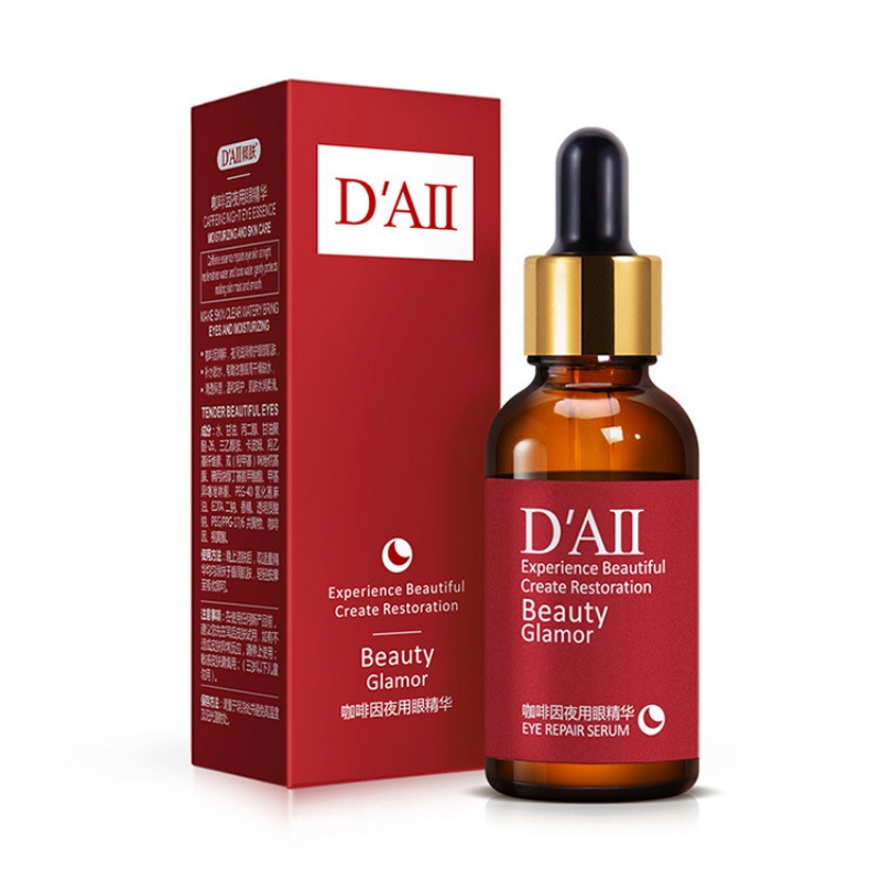 Hot Caffeine Eye Serum Moisturizing Remove Black Circle Eye Bags Anti Wrinkles Anti Aging Essential Liquid Serum