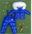 High-end fashion children down jacket