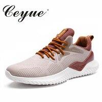 Ceyue Brand Boy Summer Air Mesh Men Lightweight Shoes 2018 Hot Lightweight Fashion Loafers Cheap Flats