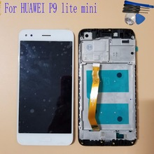 5.0 inch For Huawei P9 lite mini LCD Display Touch Screen Digitizer Assembly Replacement With Tools