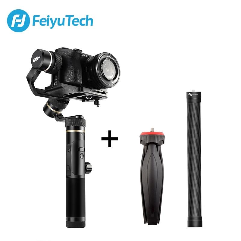 FeiyuTech Feiyu G6 Plus 3-Axe Poignée Splash preuve Cardan Stabilisateur pour Mirrorless Poche Caméra GoPro Hero 6 5 smartphone