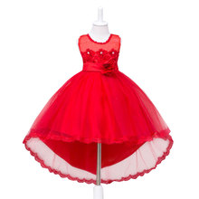 Fille partie robe De Noël robe pour fille 2017 d'été formelle fille robes de Demoiselle D'honneur junior filles de bal robe robes bébé vêtements