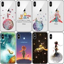 Cartoon The Little Prince earth space hard Plastic Cover Case For iPhone 8 X 7 6 6S Plus 5 5S SE  11 PRO MAX
