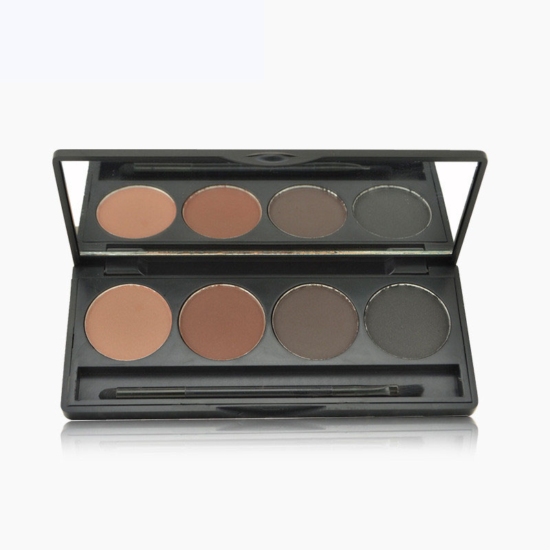 Beauty Essentials New Professional Kit 3 Colors Long Lasting Eyebrow Powder Shadow Palette With Soft Brush And Mirror Quality First Eye Shadow