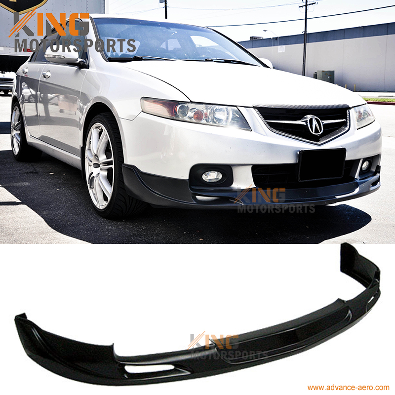 For 2004 2005 Acura TSX MG Style Urethane Front Bumper Lip Spoiler for 2001 2002 2003 2004 2005 porsche 996 911 4s coupe turbo oe style no hole carrera front bumper lip spoiler