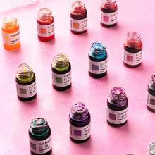 7 мл/бутылка, цветные чернила для рисования, ручка для подписи, неуглеродистые чернила для авторучки, ручка для каллиграфии, письма