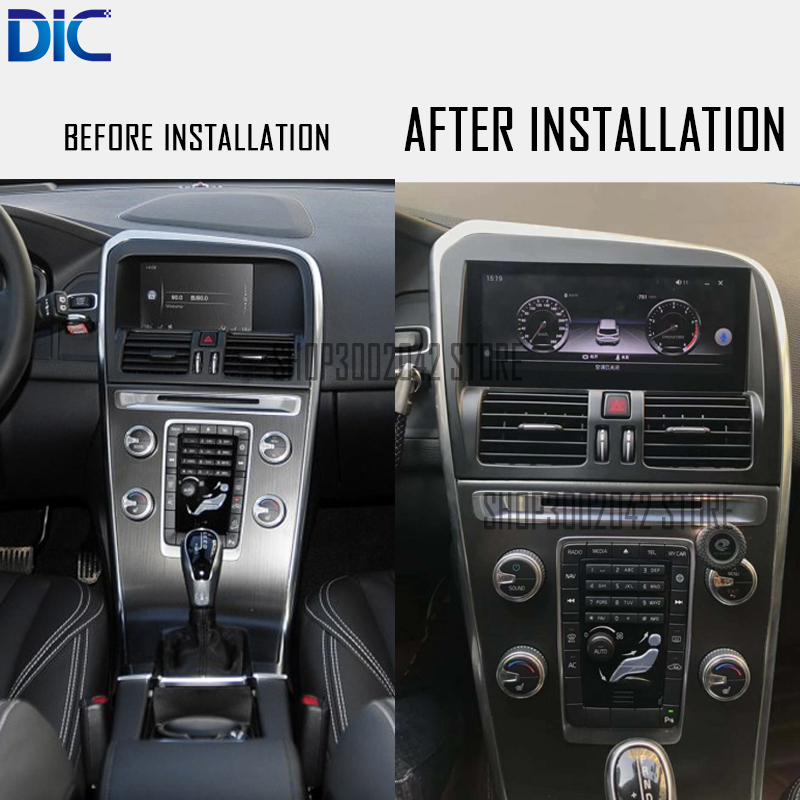 Price Of Volvo Xc60: DLC Android System Navigation Player Multifunction GPS Car