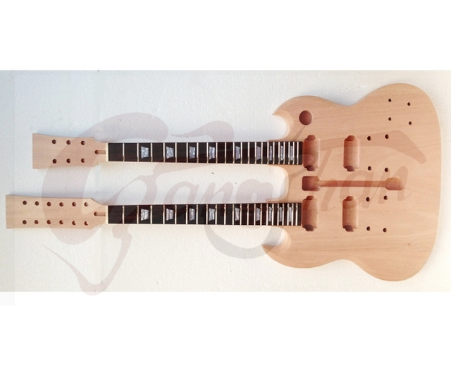 Directly Factory Protect 6 String And 12 SG Custom Guitar Kits Unpaitted DIY