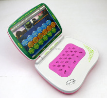 Muslim Toy Laptop Pad Computer with Arabic Alphabet 18 section of the Koran,kids educational toys Quran Islam learning machine