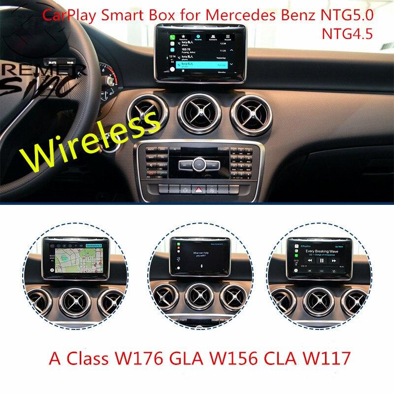 2019 Free Shipping Aftermarket Wireless CarPlay Smart Box for Mercedes Benz W176 W246 W205 W207 W216