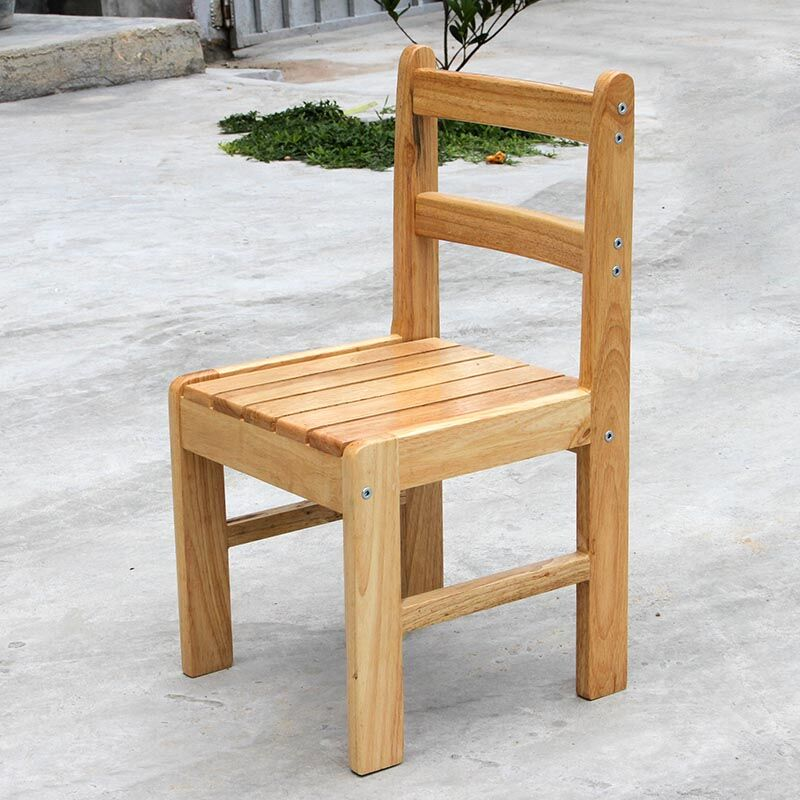 Value bench stool children chair oak wood sell crazy small armchair ...