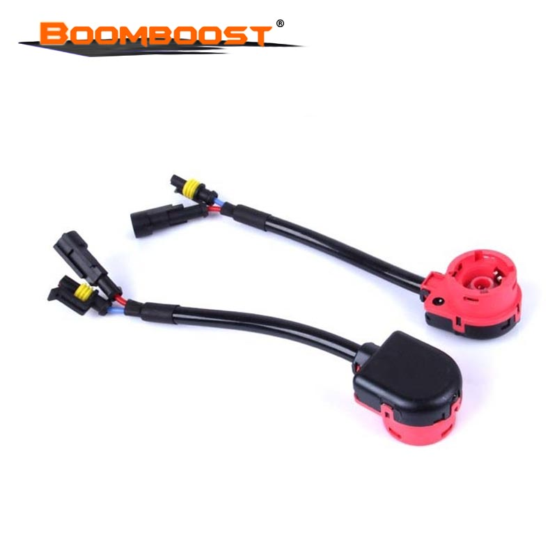 us $7 65 polarlander 2pcs hot sale d2s d2r d2c connector wiring harness bulbs adapters holders hid sockets hid bulbs adapter in car headlight Aircraft Wire Harness