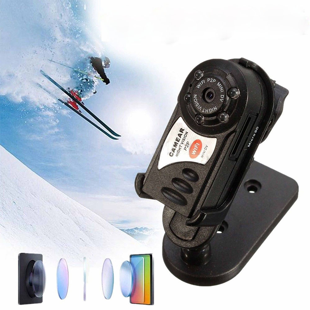 WOASER Q7 Mini Wifi Camera Wireless DVR Camcorder Video Recorder Camera IR Night Vision Motion Detection Built-in Microphone