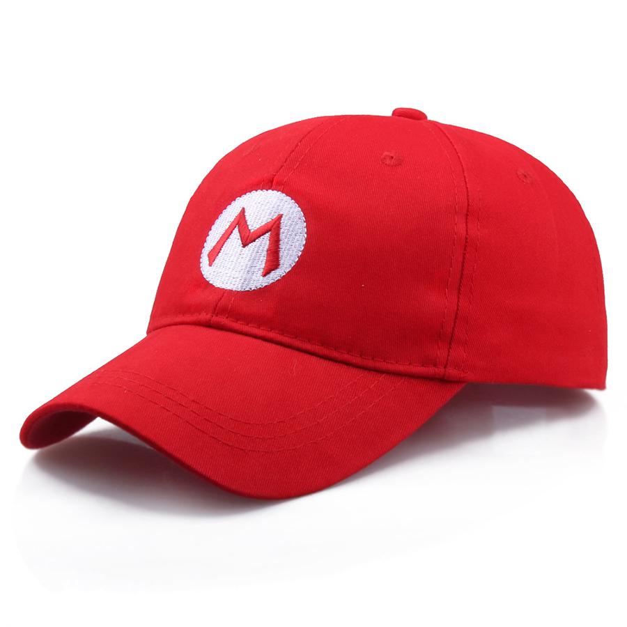 Super Mario Bros   Baseball     Caps   For Women Men Adjustable Buckle Hat Red M Green L Cosplay costume   Cap   Dropshipping