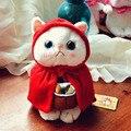 25 см милый кот плюшевые игрушки мини животных фаршированная мягкая кукла японский аниме Choo Choo cat детские игрушки лучший подарок для дети