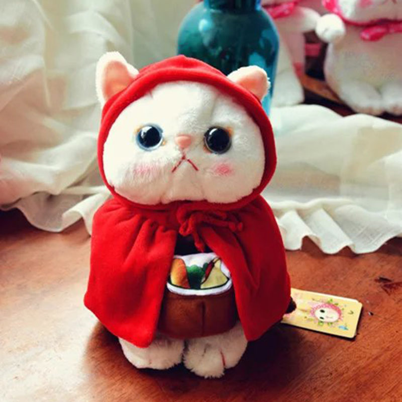 25cm cute cat plush toy mini animal stuffed soft doll Japanese anime Choo Choo cat baby toy best gift for kids