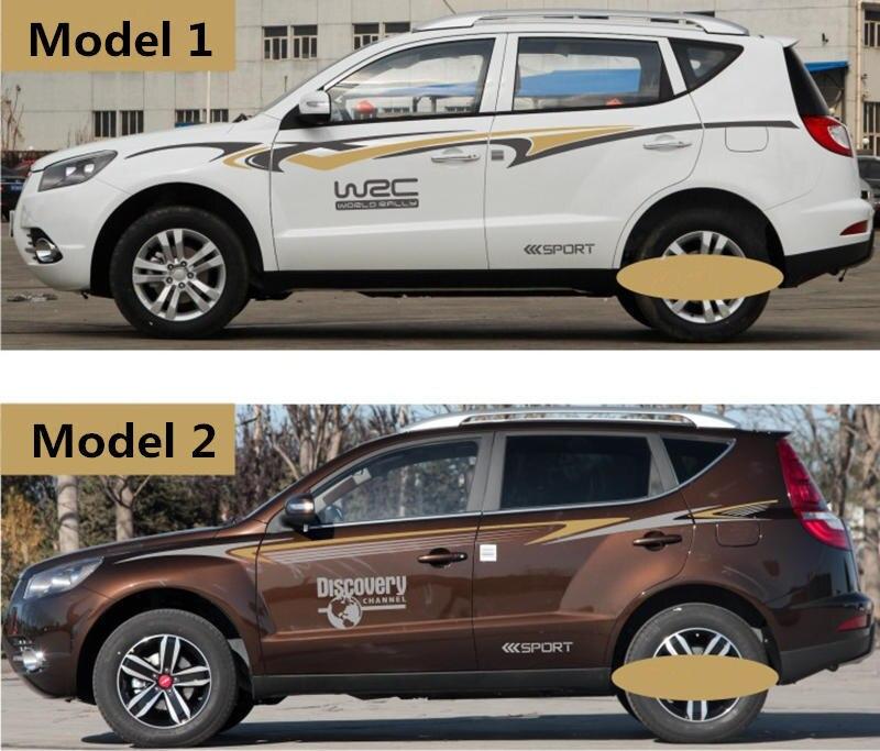 Pour Geely Emgrand X7 EmgrarandX7 EX7 SUV, autocollant de voiture