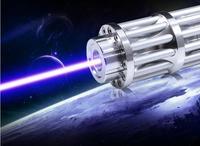 Super Krachtige! 5000 mw 5 w Real Power 450nm Blauwe Laser Pointer Pen Adjsutable Focus Zichtbare Beam Sigarettenaansteker Brandende