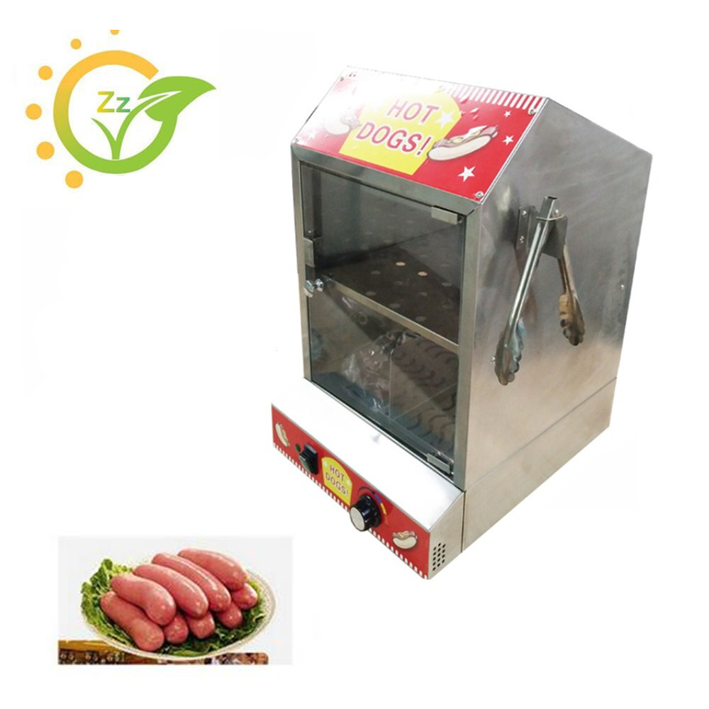High Quality Hot Dog Display Showcase Food Warmer Stainless Steel Bread Sandwich Countertop Tool high quality hot dog display showcase food warmer stainless steel bread sandwich countertop tool