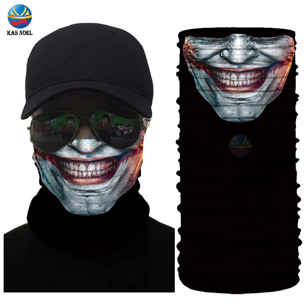 Face-Shield Headwear Bandanas Scarf Half-Face Latest Fashion UPF Tube Mask 30 Cycling