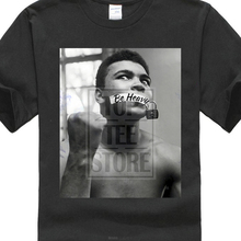 Be Heavy Muhammad Ali Short Sleeve  MenS Black T Shirt Size M 4Xl