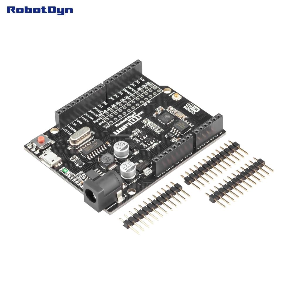 wemos d1 r2 buy - RobotDyn D1R2 analog, WiFi D1 R2 integration of ESP8266 + 32Mb flash,  form-factor for Ard. Uno R3