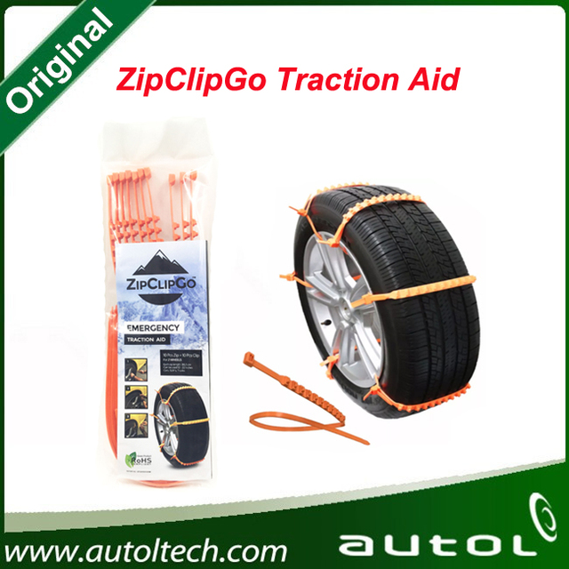 ZipClipGo Emergency Traction Aid used by almost every driver with a very easy setup ZipClipGo life saver