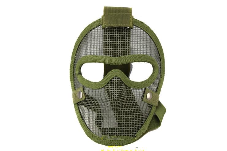 V4 gaz masque CS domaine nécessaire une protection complète fil de sécurité  protection du visage masque masque vert porte-parole 09a7a94d9f20