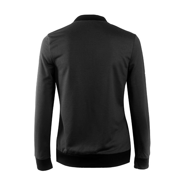 Hot Sprzedaż Jesień Tanie Ubrania Kobiet Małe Krótkie Kurtki Z Długim Rękawem Zipper Fly Outwear Kurtki Płaszcze Slim Cienkie Stylu topy Coat 15