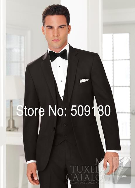 Mans Projeto da Festa de Casamento Do Smoking Masculino Terno 5 Peças Desgaste Formal Do Casamento (Casaco + Calça + Colete + gravata +) TZ72750 Men Suit Custom Made