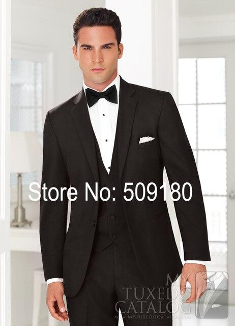 Mans Tuxedo Wedding Party Male Suit Design 5 Pieces Formal Wedding Wear (Coat+Pants+Vest+tie+) TZ72750 Men Suit Custom Made
