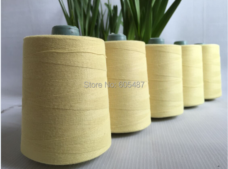High Tenacity Aramid Thread Kevlar Thread Fireproof Sewing Thread Whole Sale 20s/2  20s/3