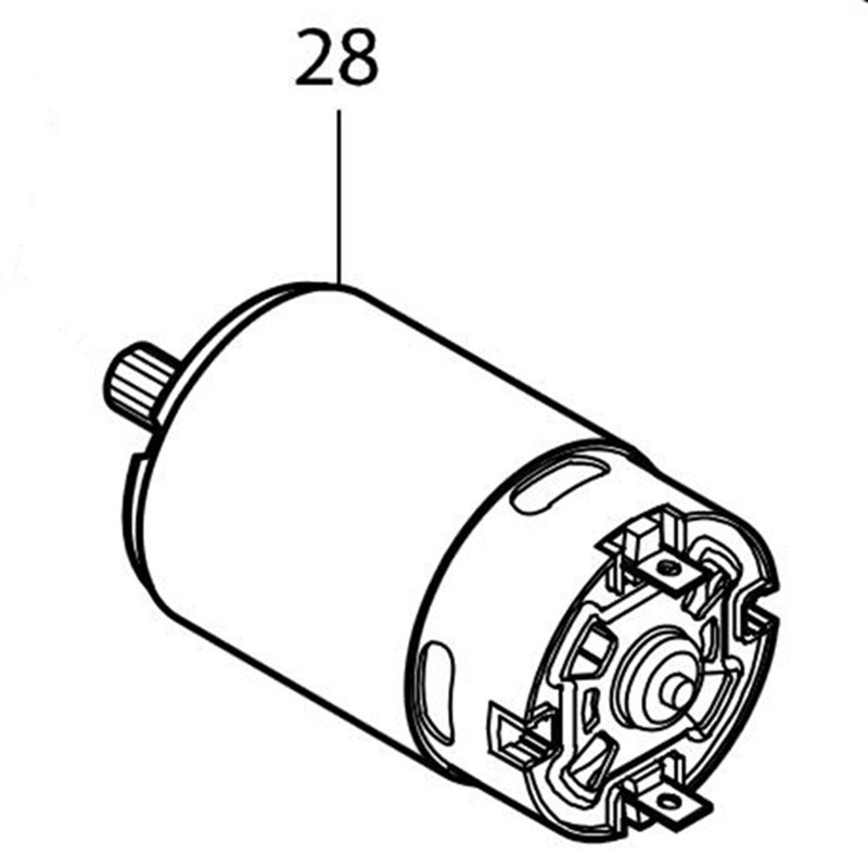 Genuine DC Motor For Makita 629846-1 BTL061 DTD061 DTD063 new convenient stainless steel manual coffee grinder detachable easy to assemble coffee machine portable coffee mill